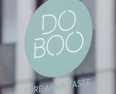 DOBOO Logo Koreanisches Soulfood Restaurant