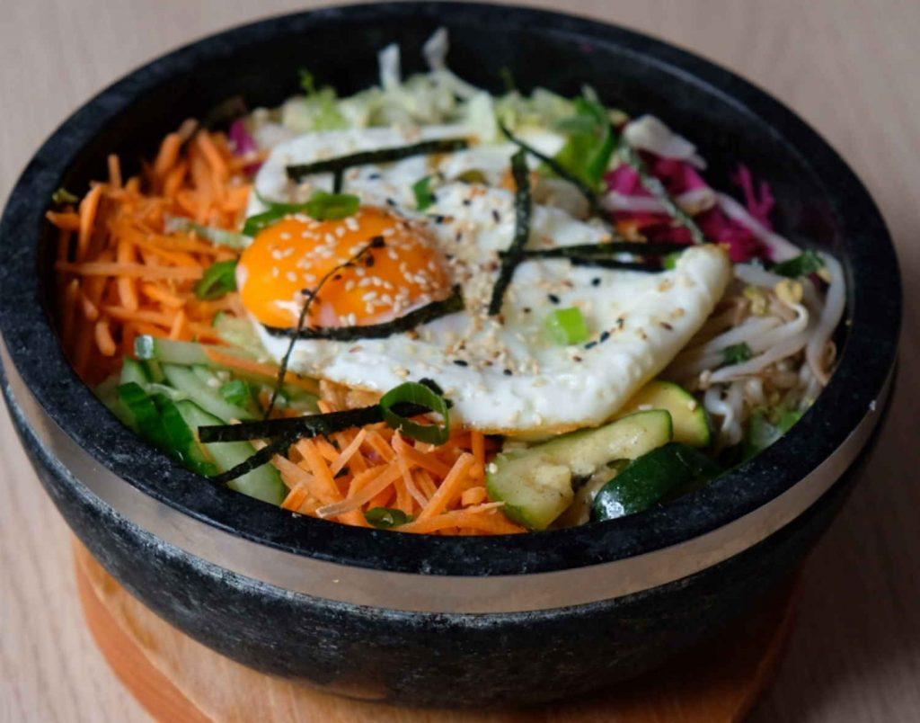 bibimbap - koreanisches essen