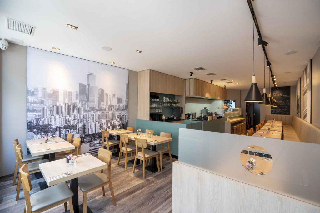 Koreanisches Restaurant - Soulfood - Doboo in Bonn - innenaufnahme gesamt