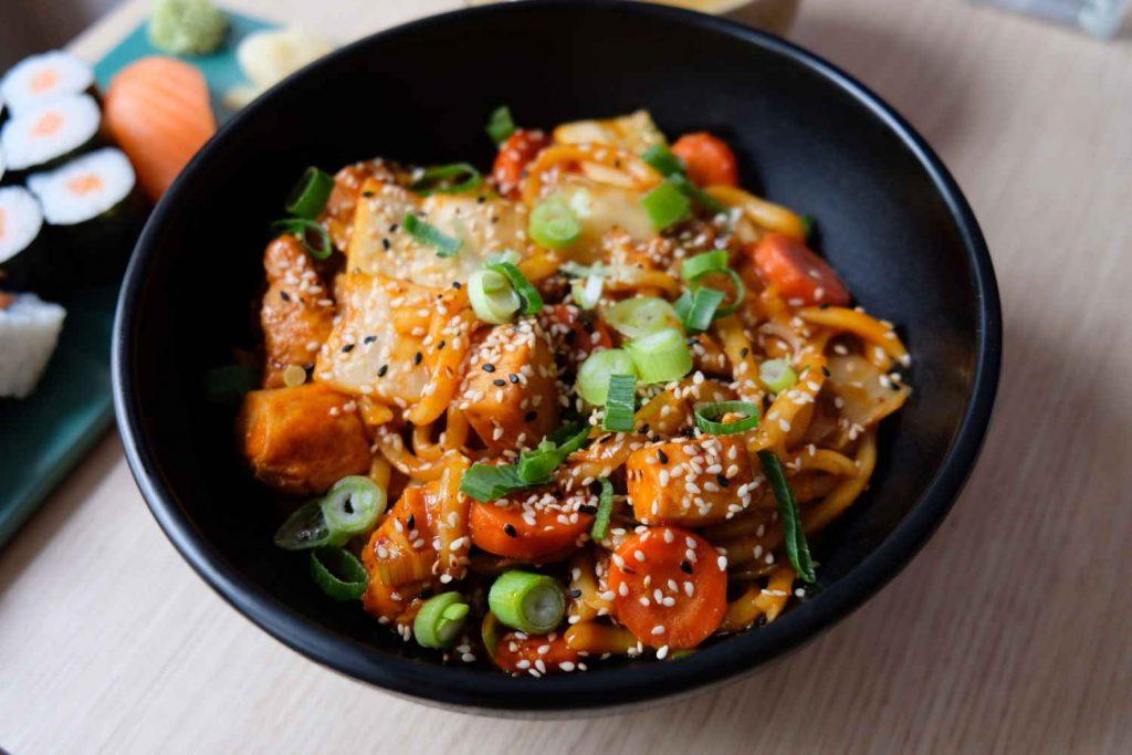 spicy tofu - koreanisches essen