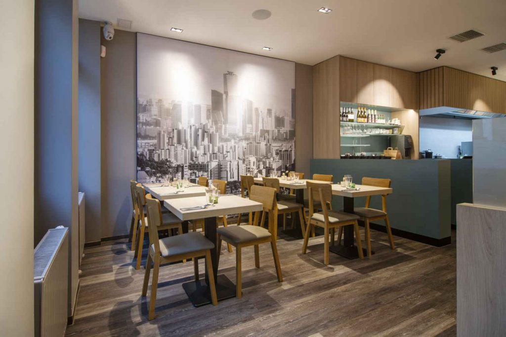 Koreanisches Restaurant - Soulfood - Doboo in Bonn - innenaufnahme, teilansicht