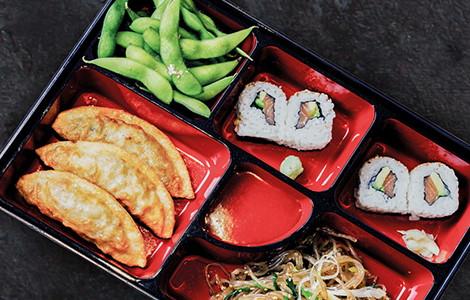 Koreanisches All In Menü